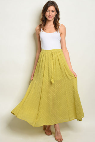 4319-Yellow Ruffle Dress
