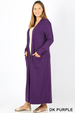 13019- Eggplant Pleated Dress