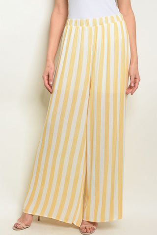 2619-Pleated High Waist Pant