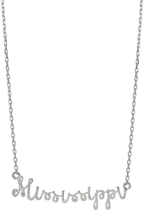 122618- Mississippi Wire Necklace