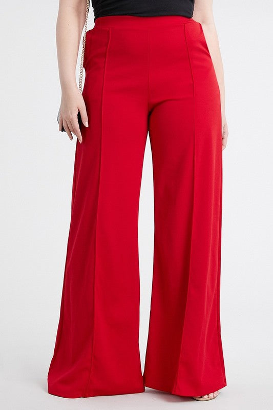 11020-Love Signature Trousers (CURVY)