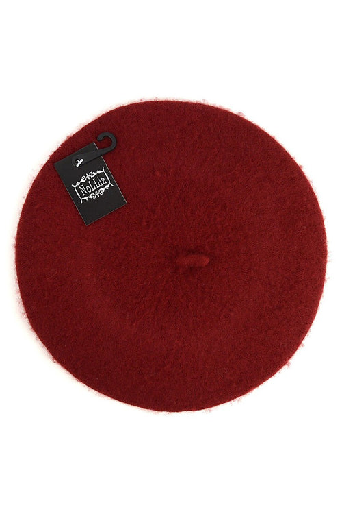 French Beret- Wine