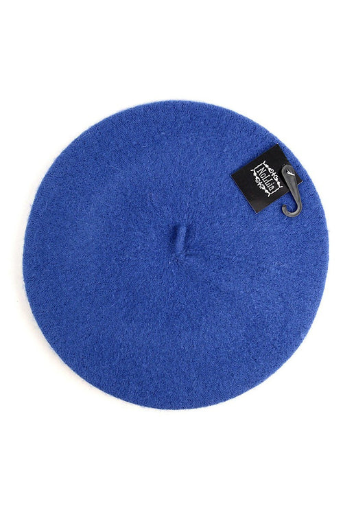 French Beret- Royal