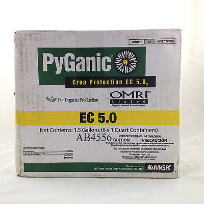 Pyganic Crop Protection EC 5.0 II for Organic Production