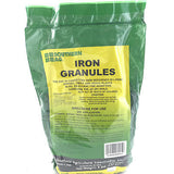 Iron Sulfate Granules - for Lawns, Shrubs, and Gardens