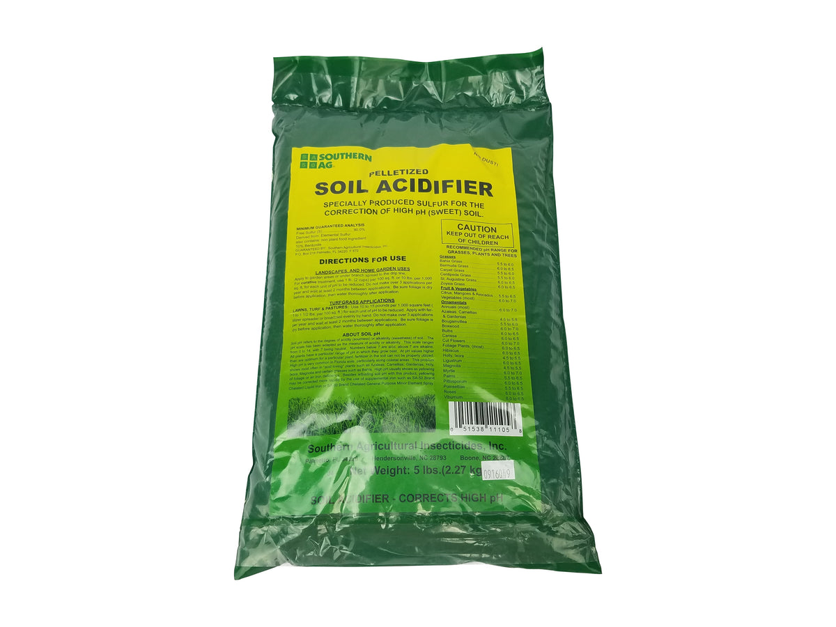 Southern Ag Pelletized Soil Acidifier 5 Lb Epesthero