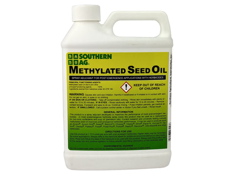 Methylated Seed Oil (MSO) - Spray Adjuvant - Makes Weed Killer work better!!!