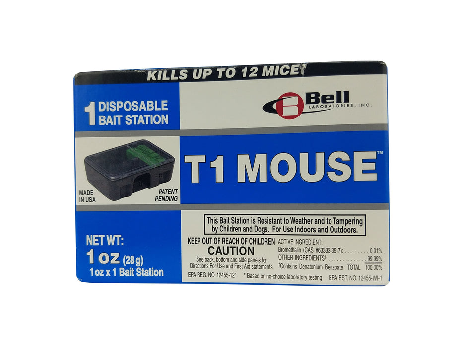 T1 Mouse Disposable Pre-Baited Bait Stations