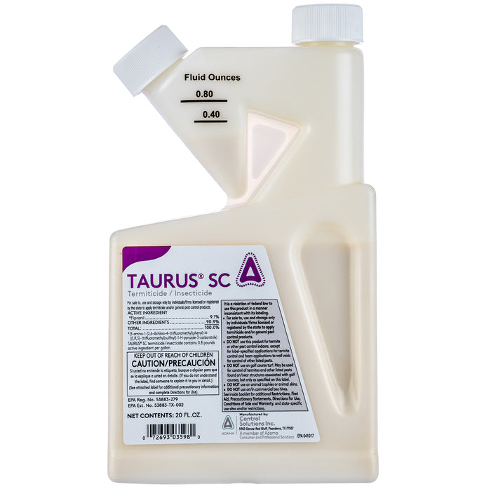 Taurus SC Termiticide and Insecticide