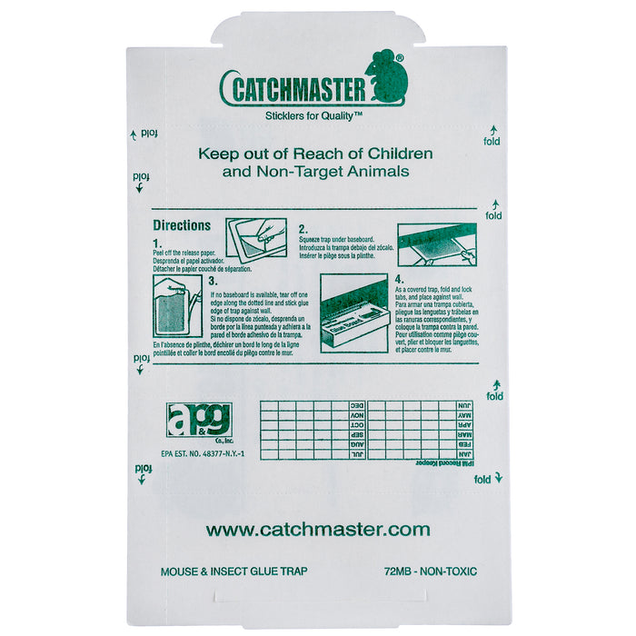 Catchmaster 72MB Mouse Glue Boards