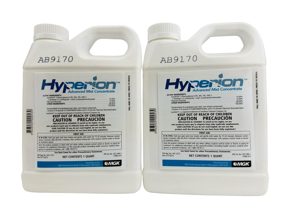 Hyperion Mosquito Control Misting Insecticide