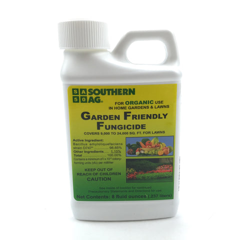 Garden Friendly Fungicide OMRI Certified Organic