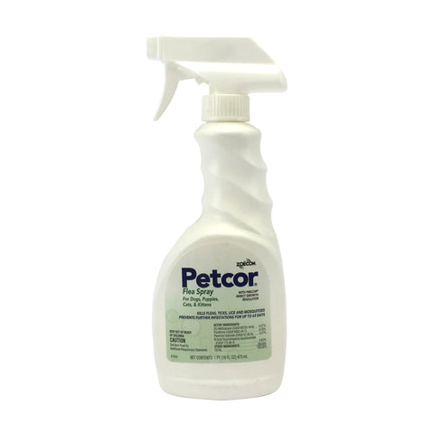 Petcor Flea Spray contains Precor IGR