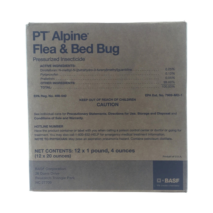 Alpine Flea and Bed Bug Aerosol with IGR