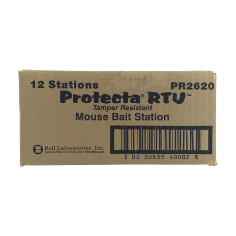 Protecta RTU Tamper Resistant Mouse Stations - 1 key with each order