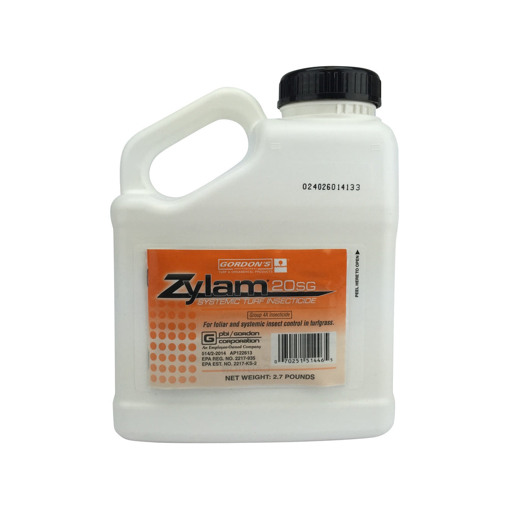 Zylam 20 SG Systemic Turf Insecticide - 2.7 lb Jug