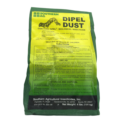 Dipel (Thuricide) Bt Dust Garden Insecticide Kits