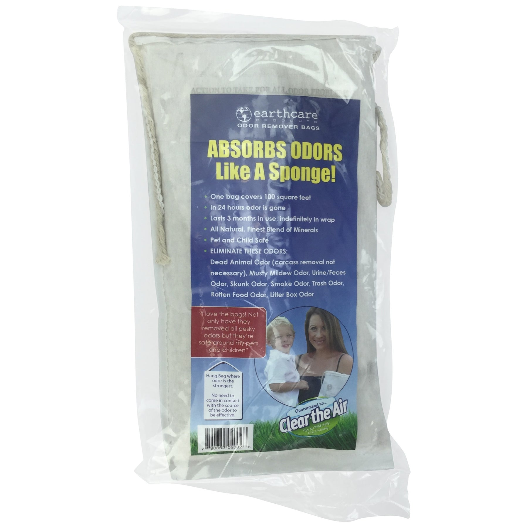 Earth Care Odor Remover Bag