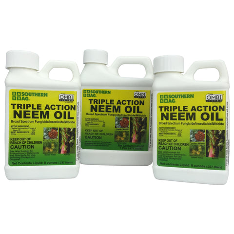 Triple Action Neem Oil - Organic OMRI approved