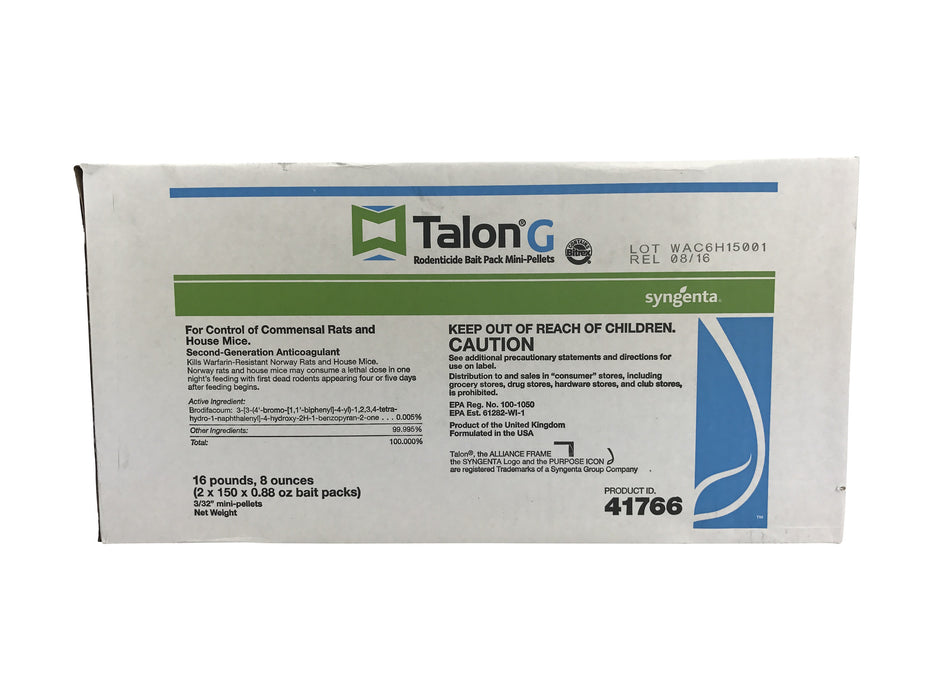 Talon G Mini Pellet Place Packs - 300 x 25 Grams
