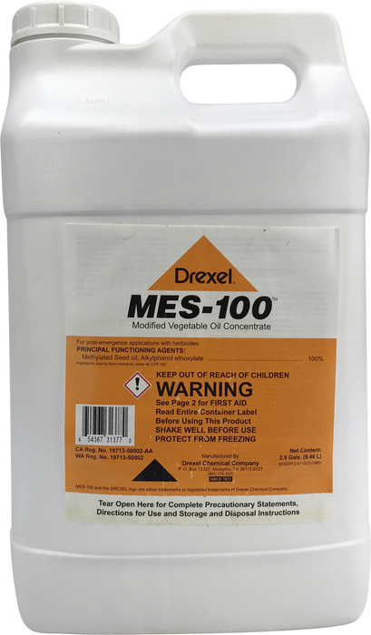 Drexel MES-100 Methylated Seed Oil, 2.5 Gallon Jug