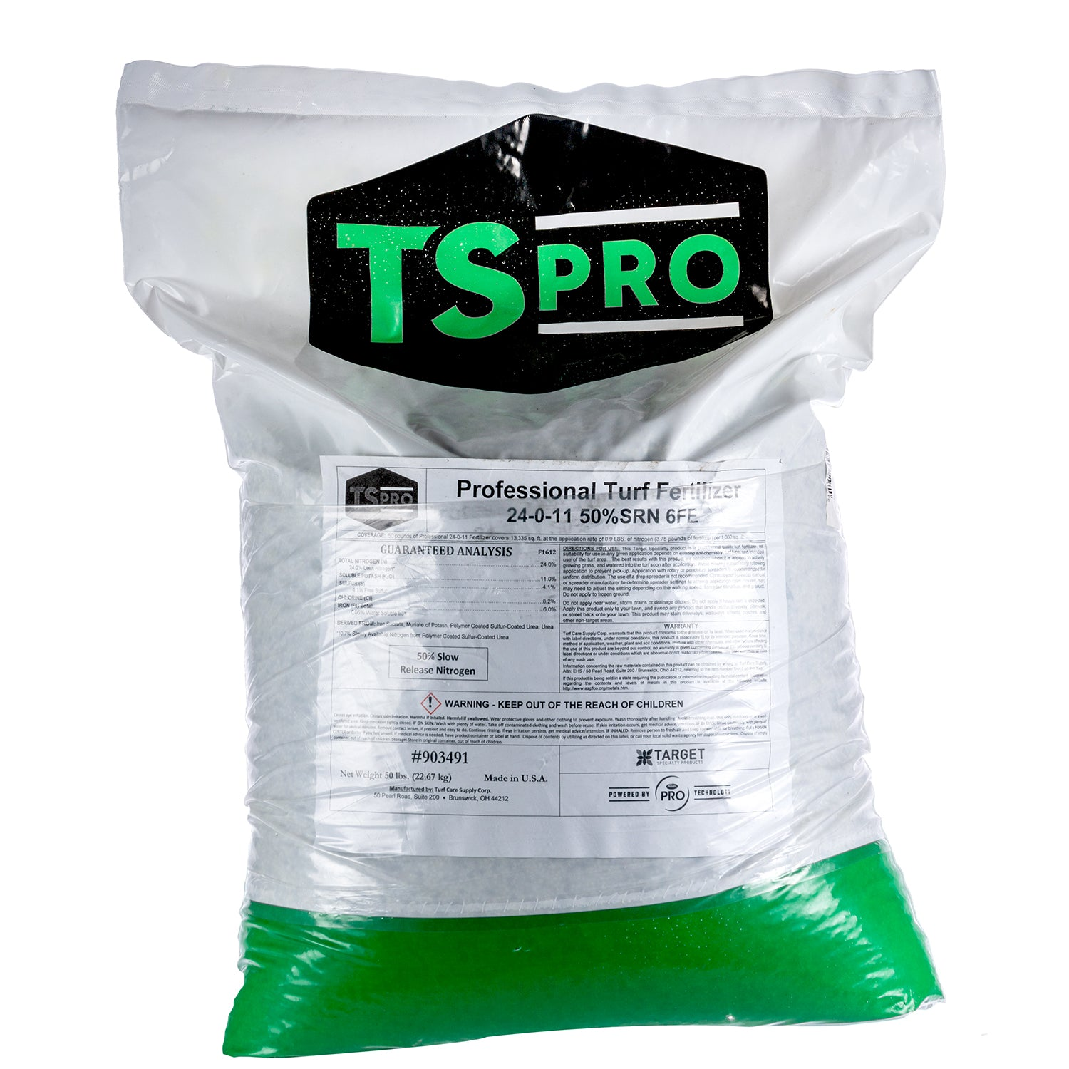 24-0-11 50% Slow Release Professional Turf Fertilizer