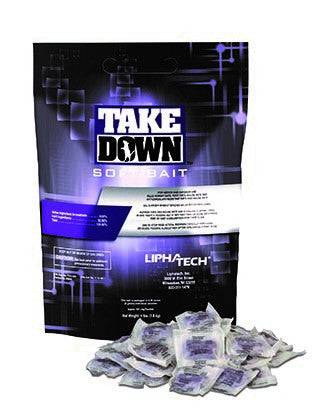 TakeDown Soft Bait for Rodents by LiphaTech - 4lb
