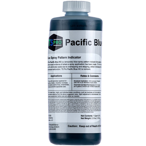 Turf Fuel Pacific Blue HC Colorant Spray Indicator & Pond Dye Quart