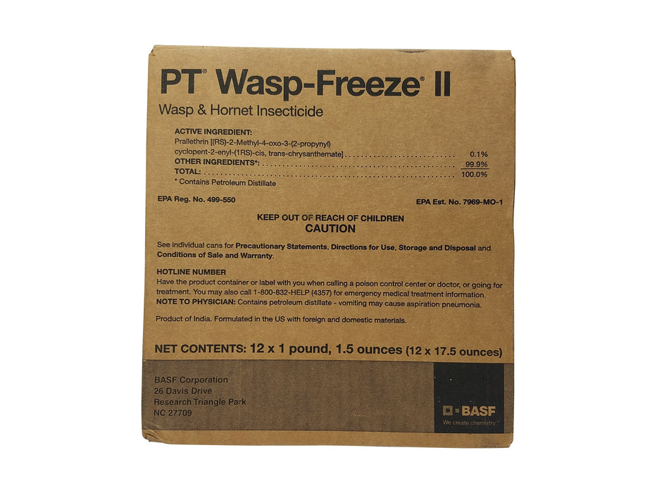 PT Wasp-Freeze II Wasp & Hornet Killer