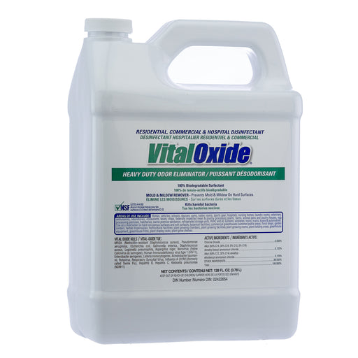 VitalOxide Residential Commercial & Hospital Disinfectant - One Gallon