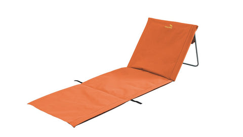 Luksus Foldbar Liggestol/Solseng - Orange