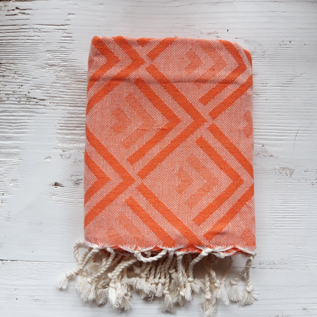 Fouta Direction orange