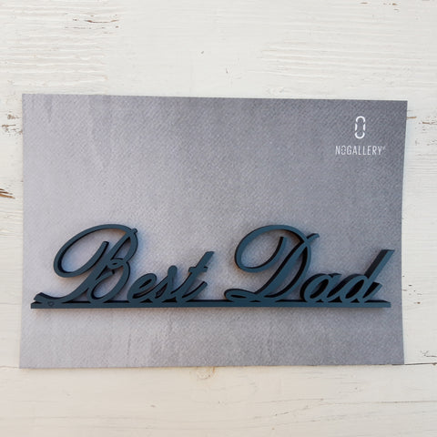 Best Dad jeansblau