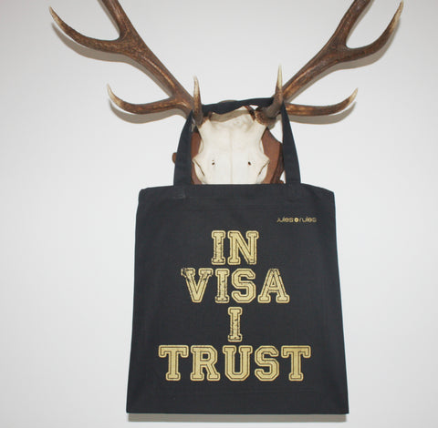 In Visa I Trust black