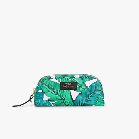 Tropical Makeup bag klein
