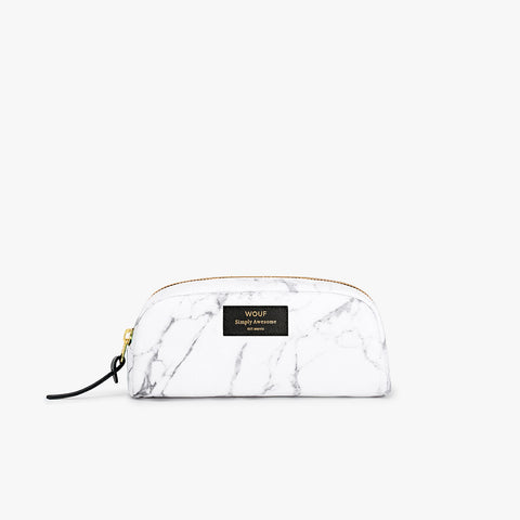 Marble Makeup bag klein