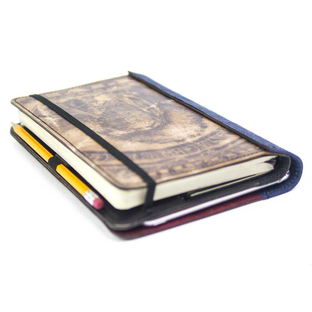 Moleskine Journal Cover with iPad mini sleeve 1899 Packmule