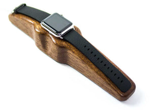 Arc Solo Apple Watch Charging Stand Mahogany