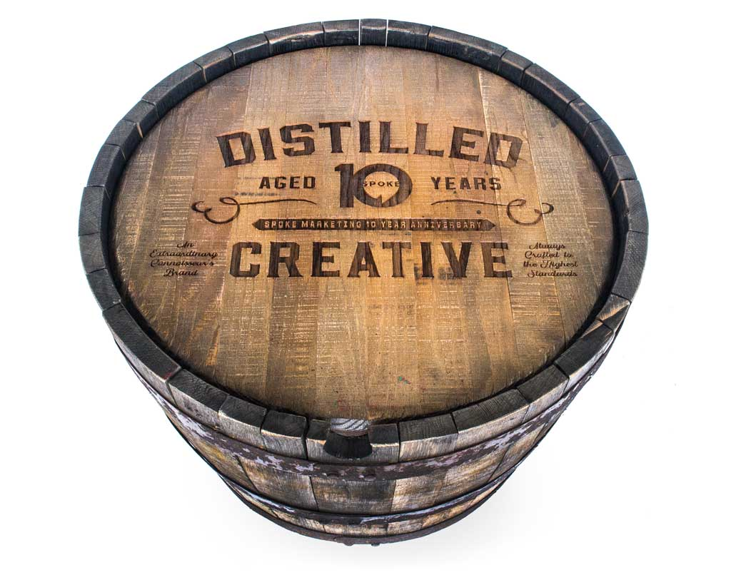Whiskey Barrel Tables
