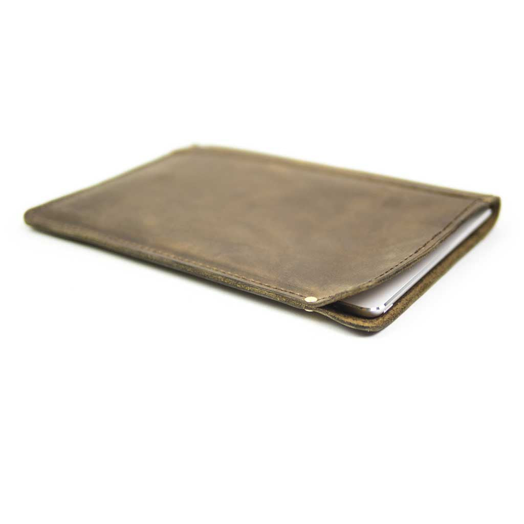 Leather Sleeve for iPad mini by Lumberjack Leather