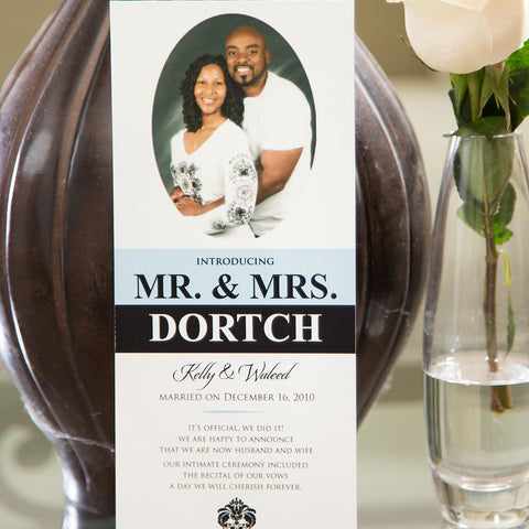 Mr. & Mrs. Dortch Wedding Announcement