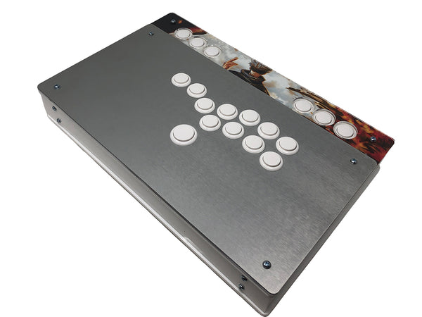 Eternal Rival - Aegis S-Rank Plus Stickless - Anodized Aluminium Top - Screw on and Snap on buttons
