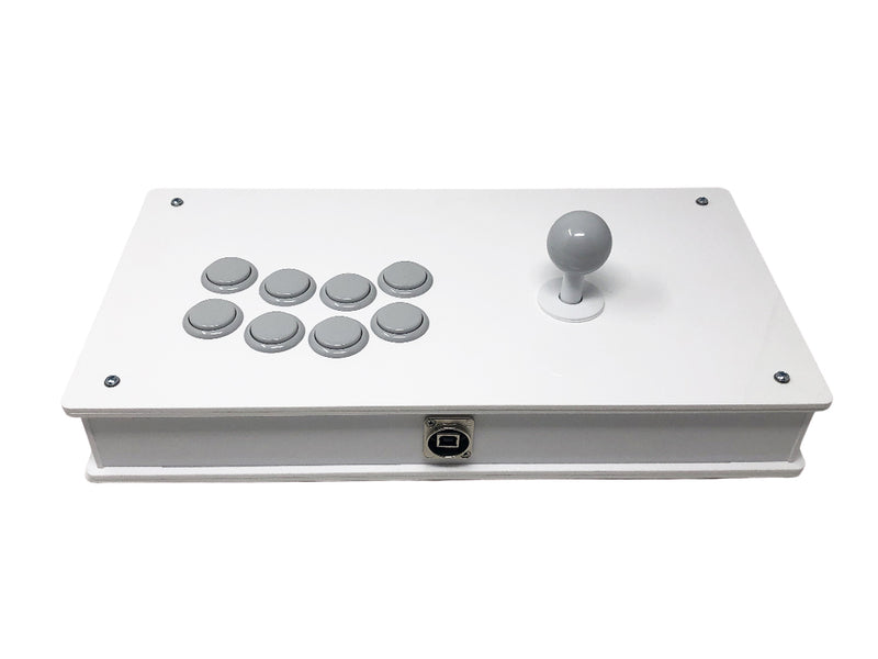 Eternal Rival - Mid Tier Case - Fightstick Enclosure Korean Levers, Japanese Levers, Snap-in or Screw On Pushbuttons