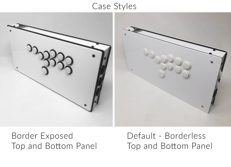Eternal Rival - High Tier Case  - Fightstick Enclosure Korean Levers, Japanese Levers, Snap-in or Screw On