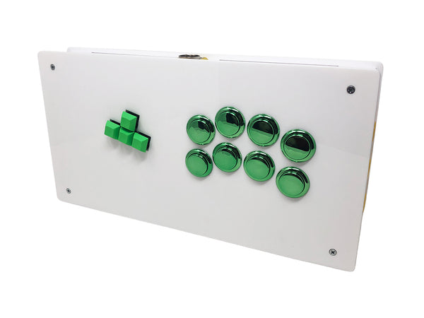 Eternal Rival -Mid Tier Case - Acrylic Keyboard Style Fightstick Enclosure optional WASD PCB