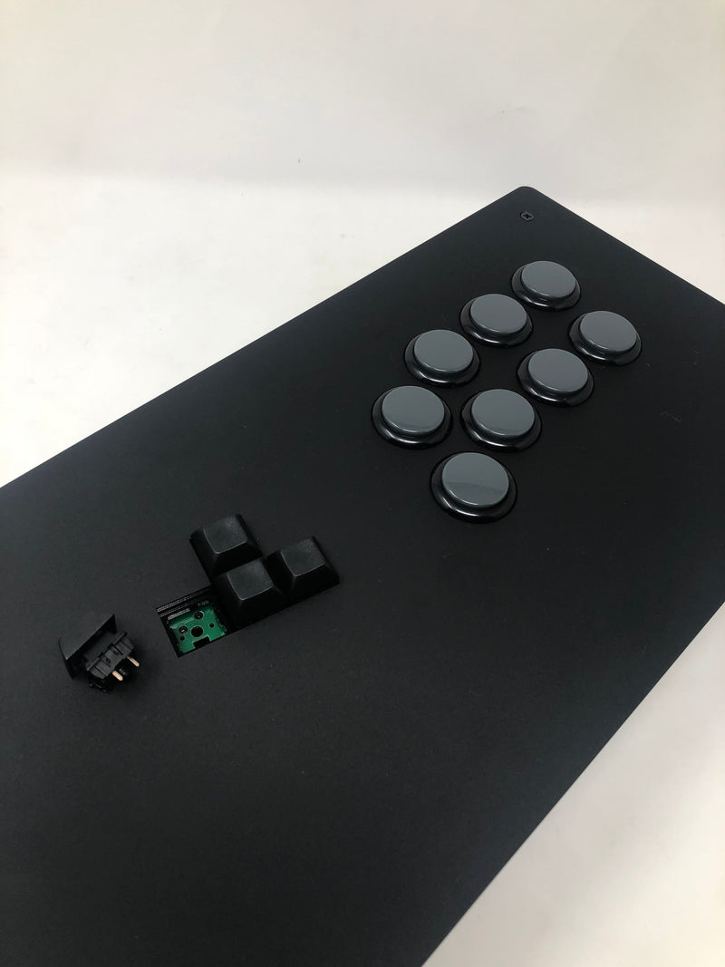 Eternal Rival -High Tier Case - Acrylic Keyboard Style Fightstick Enclosure optional WASD PCB