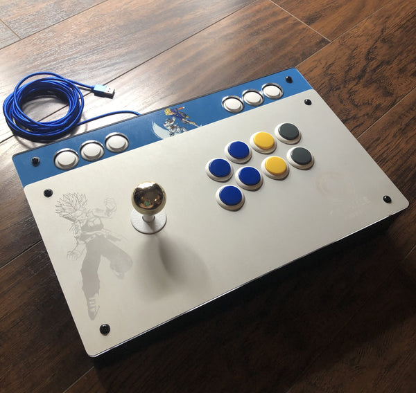Aegis S-Rank Plus - working PS4/PS5 fightstick aluminum top with art