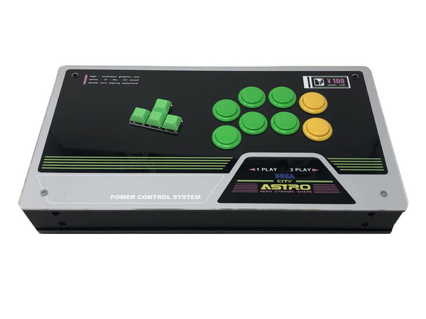 Eternal Rival : High Tier Case with Art - Fightstick Keyboard Style With Art Fightstick include WASD PCB