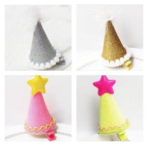 Party Hat Clips