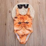 Grumpy Cat Swimsuit